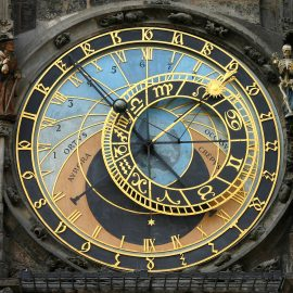 Astronomic clock in Czech Republic