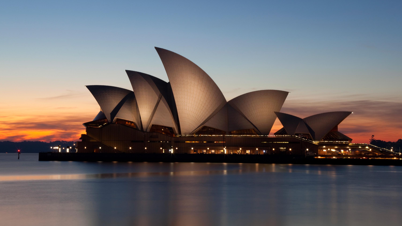 Sydney Opera House At Dawn