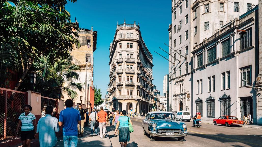 Hola Cuba Street Scene