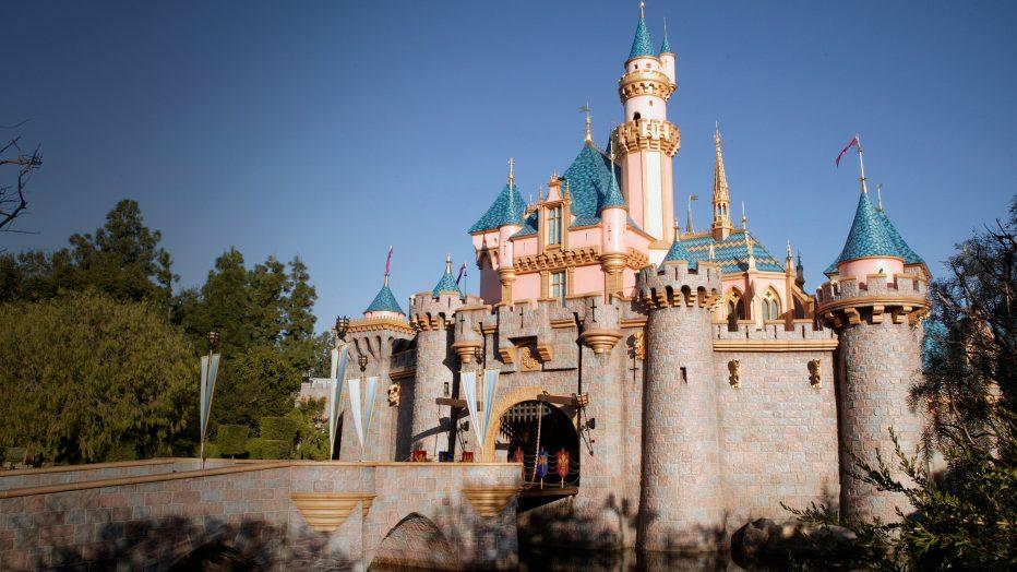 Disney World Castle during the Anaheim Heritage Festival