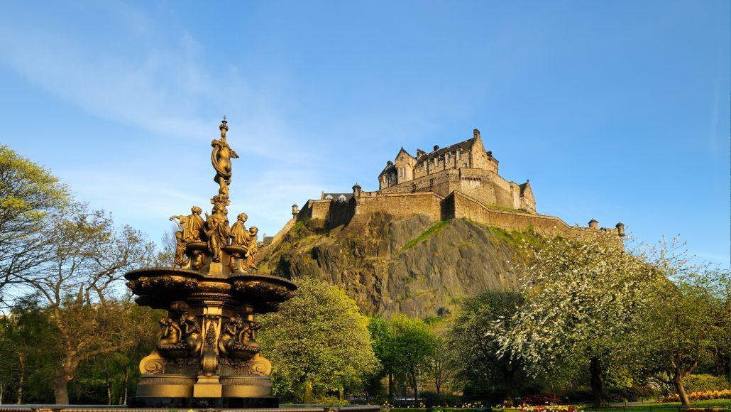 Teachers and students can explore Edinburgh, Scotland and London, England