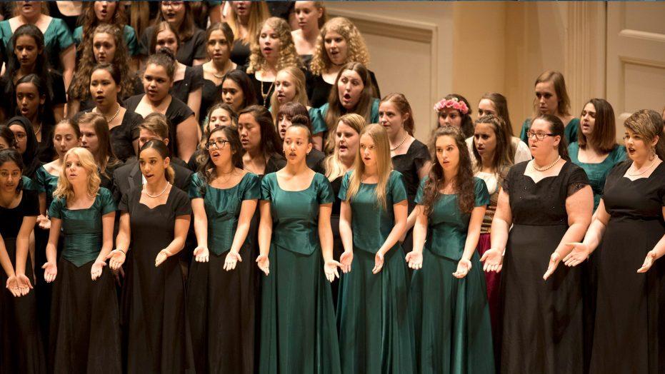 Choir Festival at Carnegie Hall
