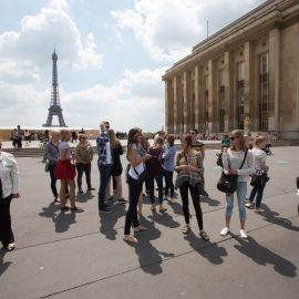 Student Tour in Paris, France