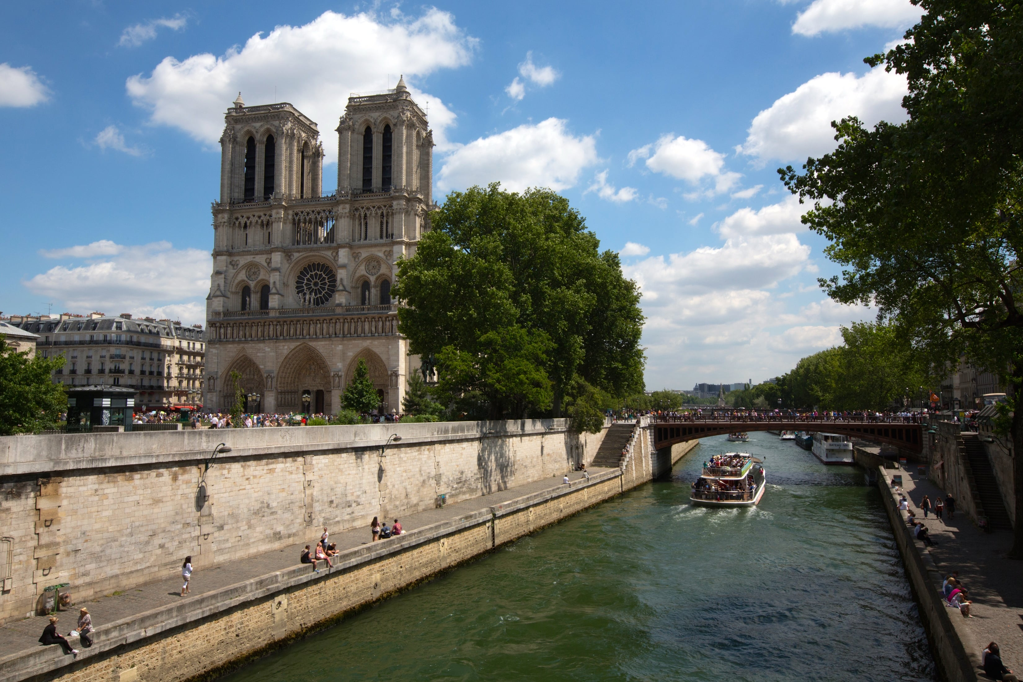 Seine River Cruise - Paris, France