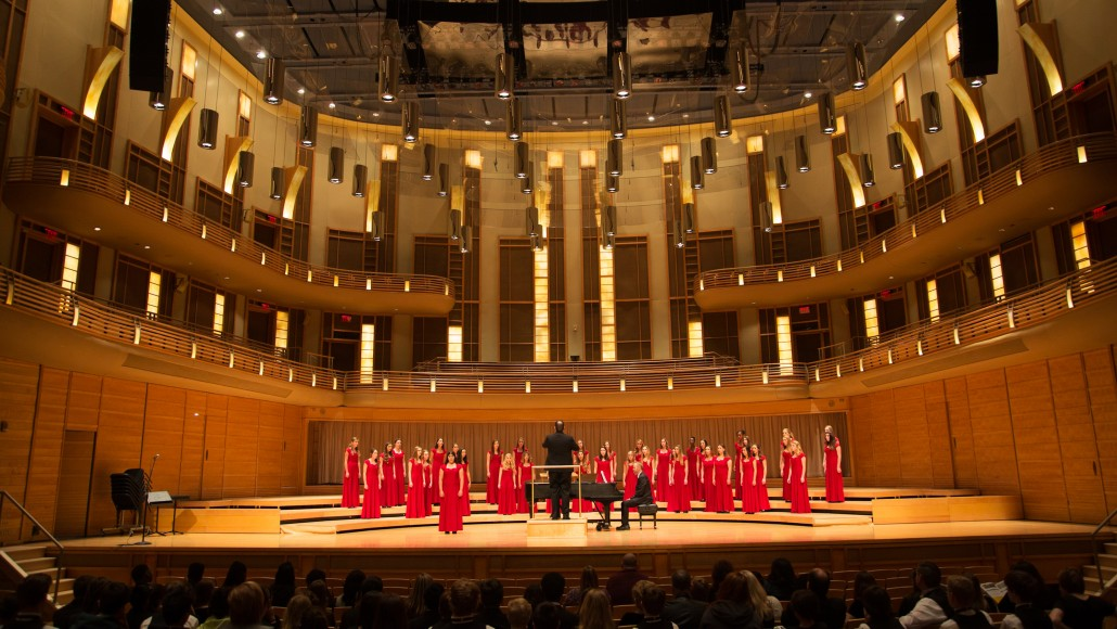Choir at Strathmore