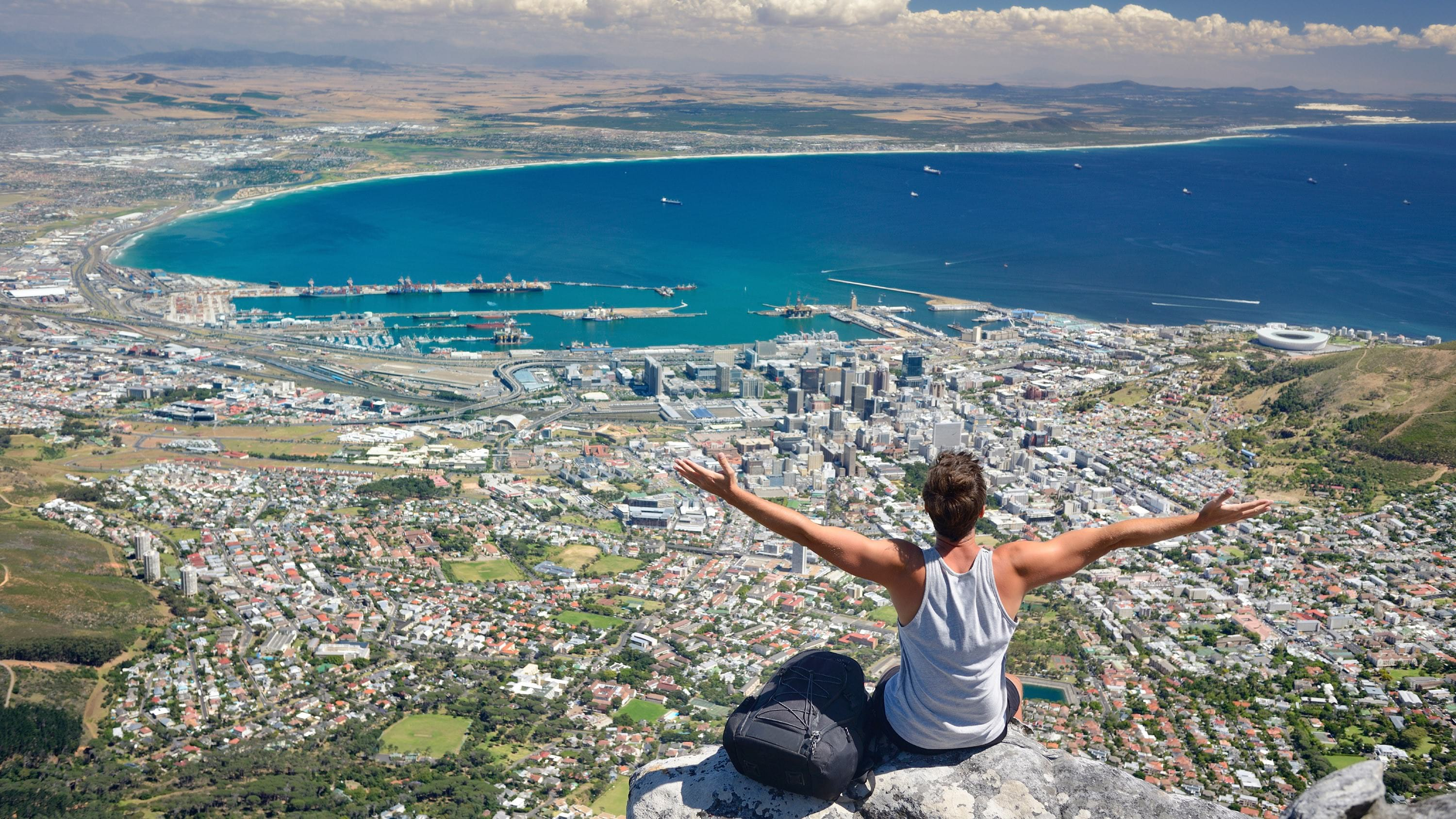 Top of Table Mountain, Cape Town, South Africa