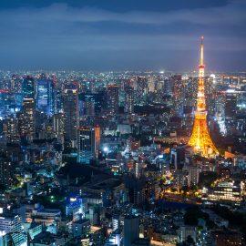Tokyo Tower in Roppongi Hills - Tokyo, Japan