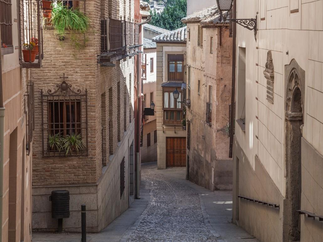 Toledo Street View. Toledo, Spain