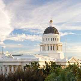 California Gold Country State Capital Building