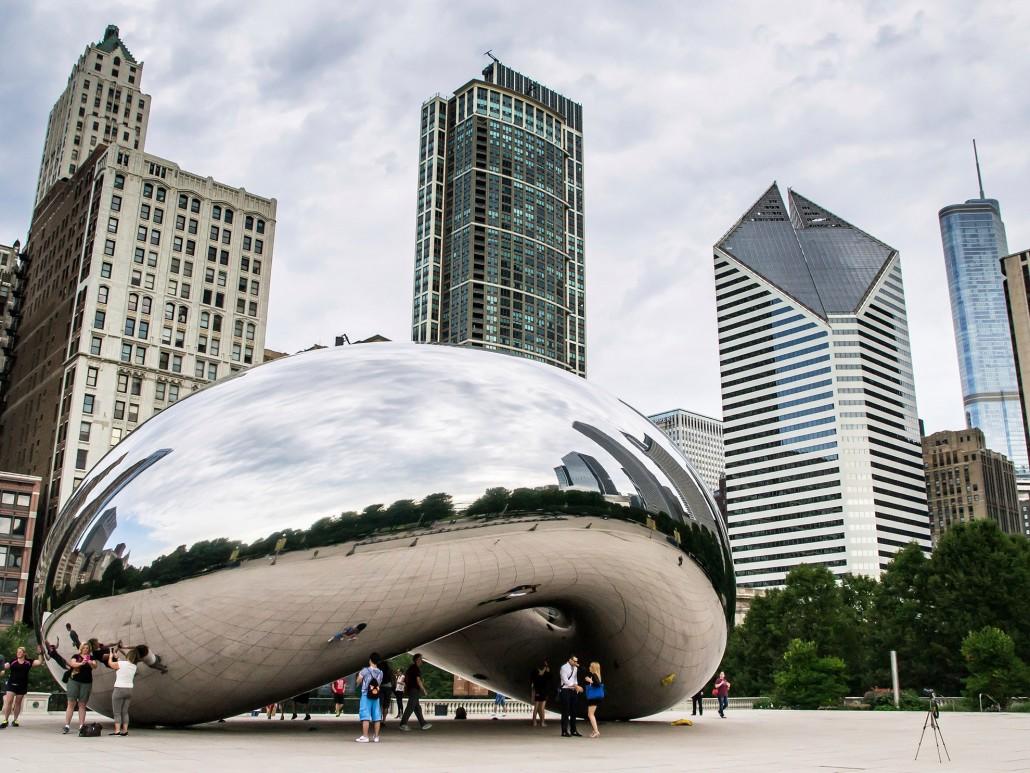 Chicago Cloud Gate at Millennium Park