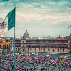 Zocalo, Plaza de la constitucion - Mexico City, Mexico