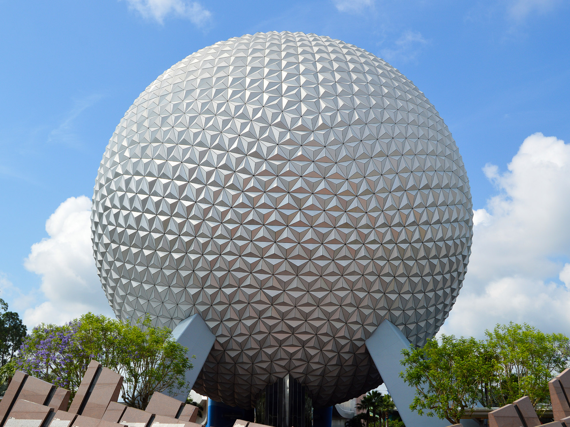 Spaceship Earth at Epcot - Orlando, Florida