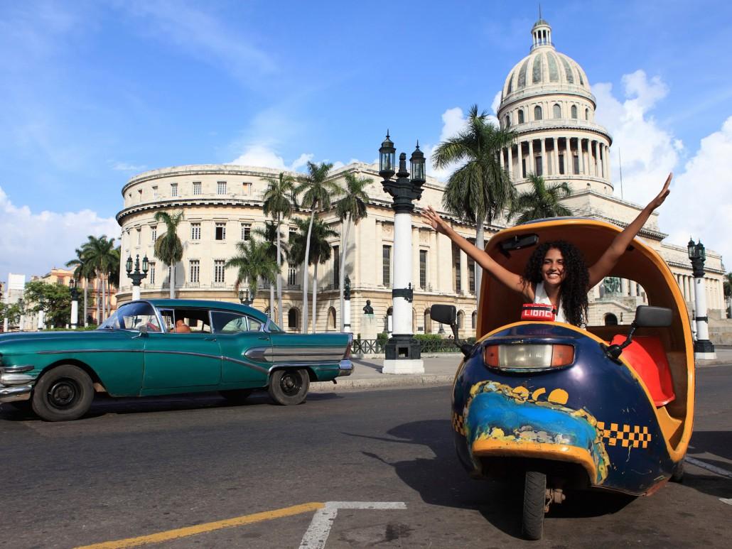 City Street of Havana, Cuba