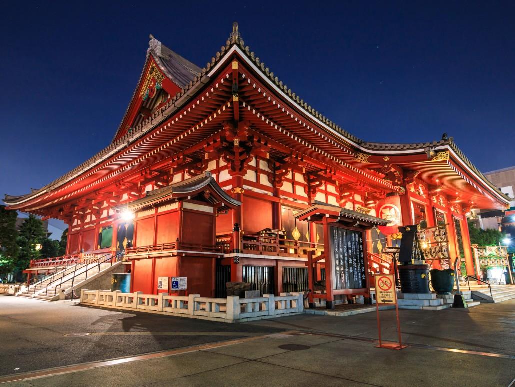 Asakusa Kannon Temple - Tokyo, Japan