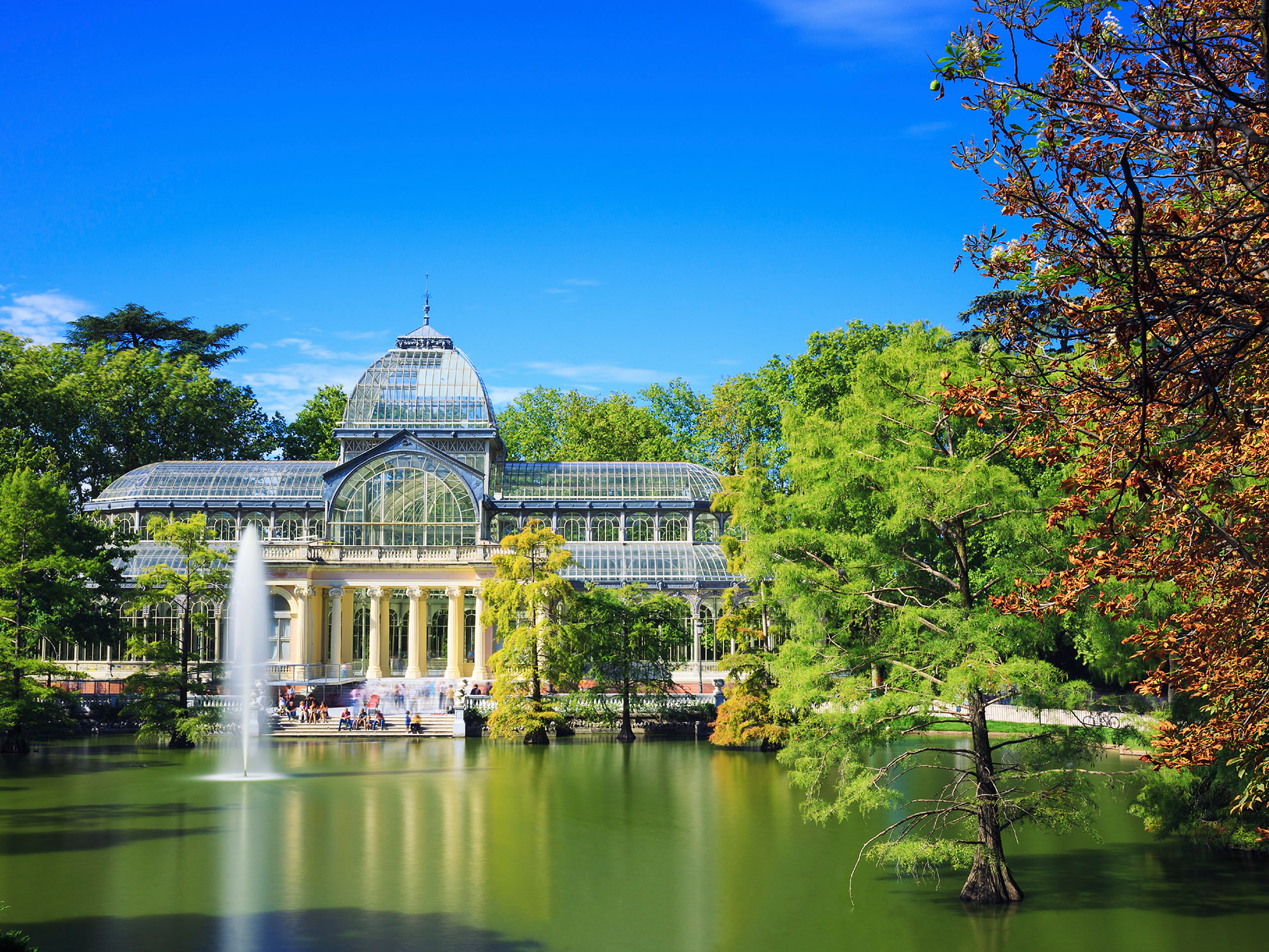 Parque del Retiro - Madrid, Spain