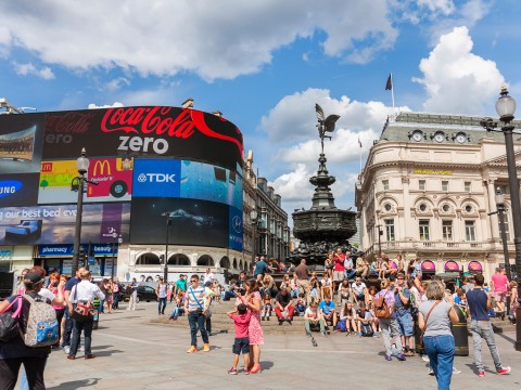 Piccadilly Circus - London, England