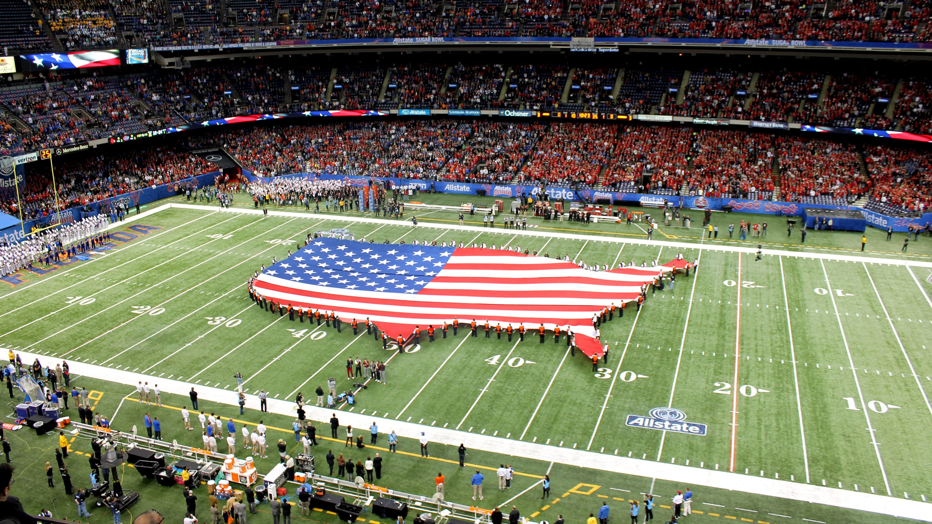 Students can perform at nationally acclaimed Bowl Games like the Sugar Bowl, Orange Bowl and Holiday Bowl