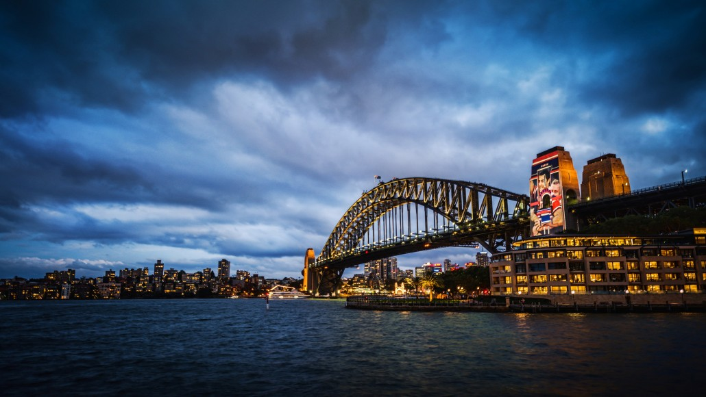 Sydney Harbor Night