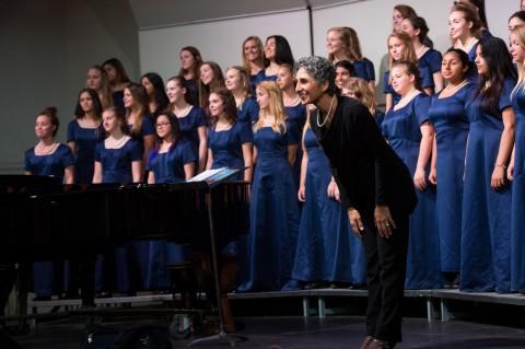 Choral director high school festival