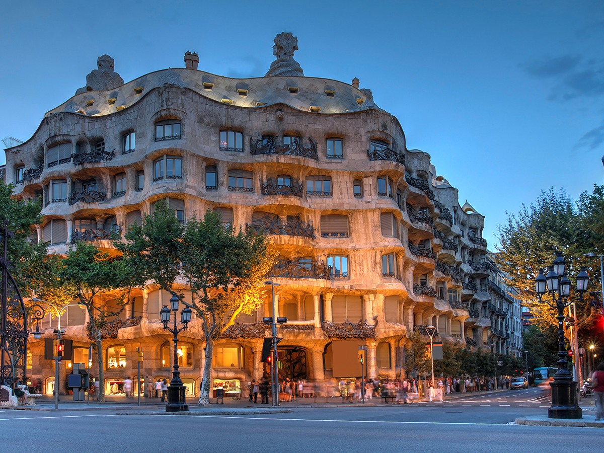 Casa Milà - Barcelona, Spain