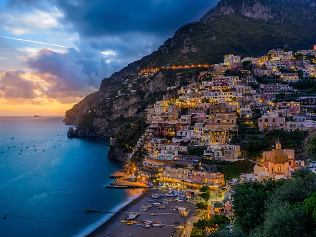 The Coast of Sorrento - Sorrento, Italy