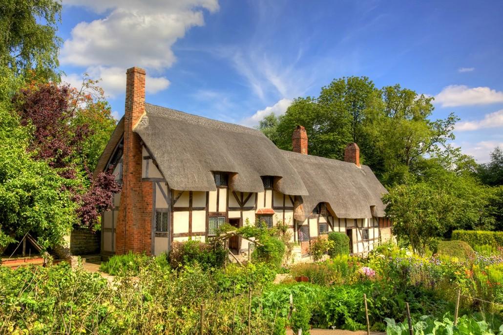 Anne Hathaway's Cottage - Stratford-upon-Avon, England
