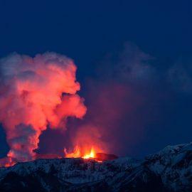 Eyjafjallajokull Volcano - Reykjavik, Iceland