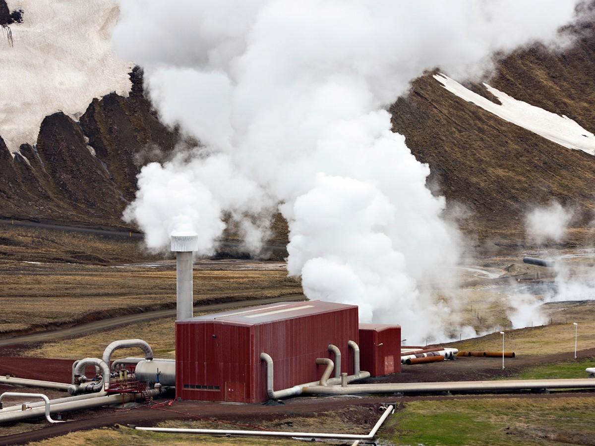 Hellisheidi Geothermal Power Plant - Hellisheidi, Iceland