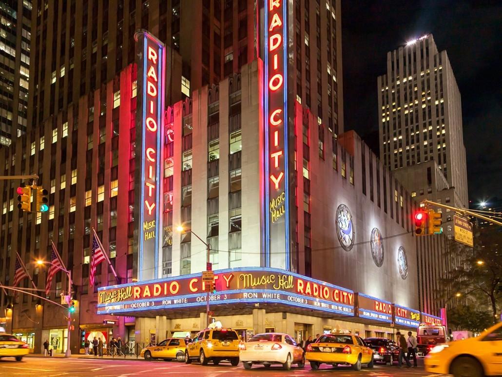 Radio City Music Hall - NYC, New York