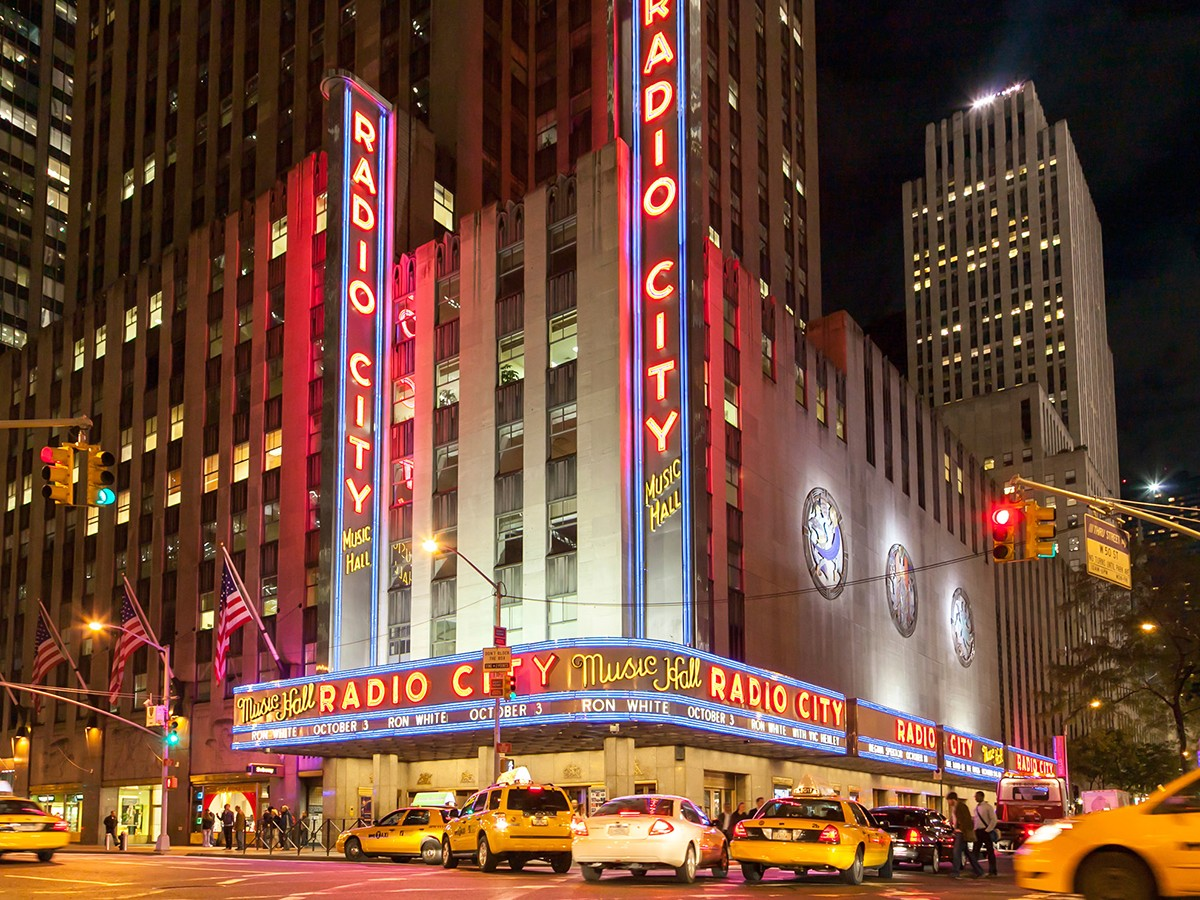 Radio City Music Hall - NYC, New York