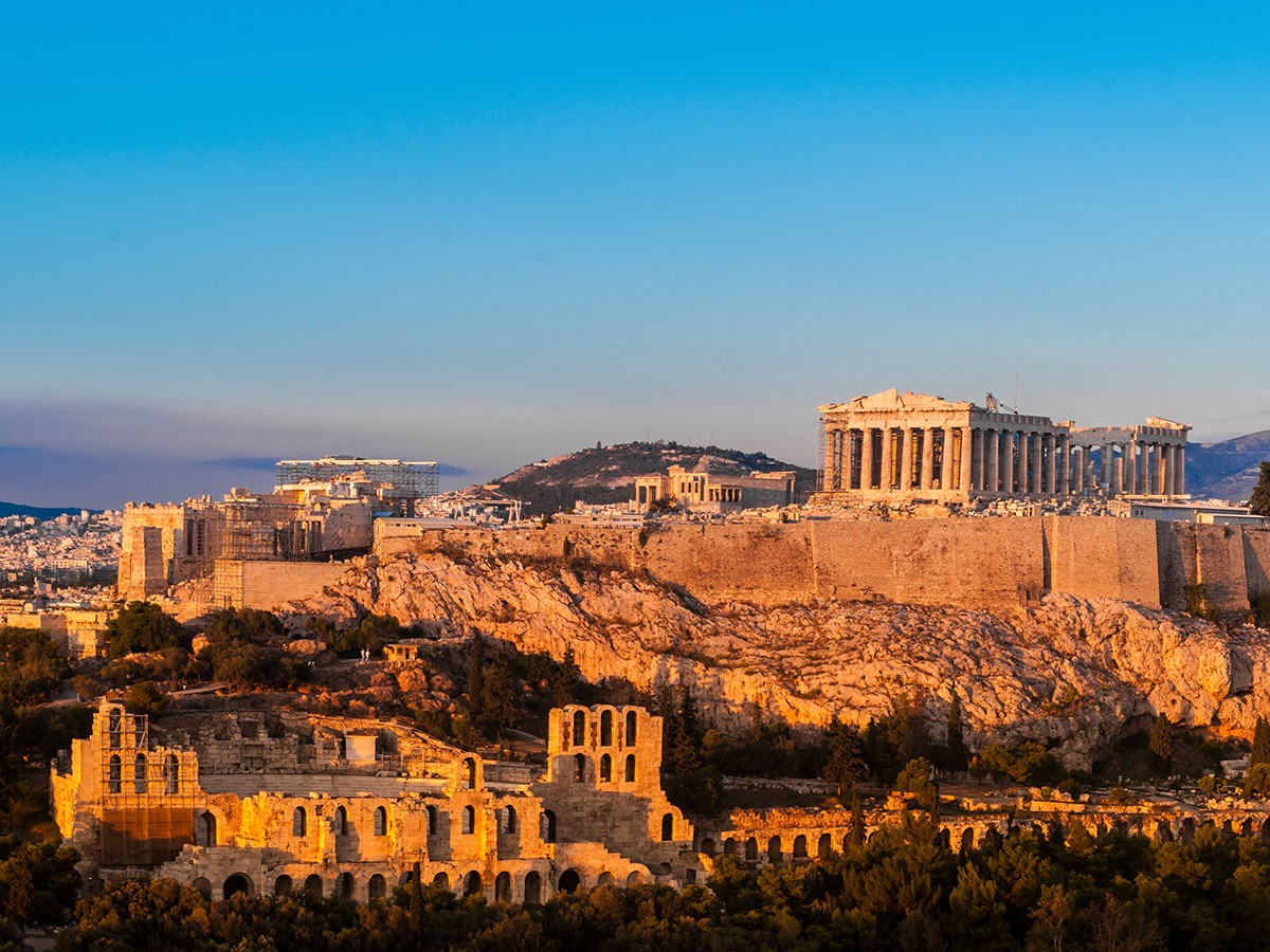 The Parthenon - Athens, Greece