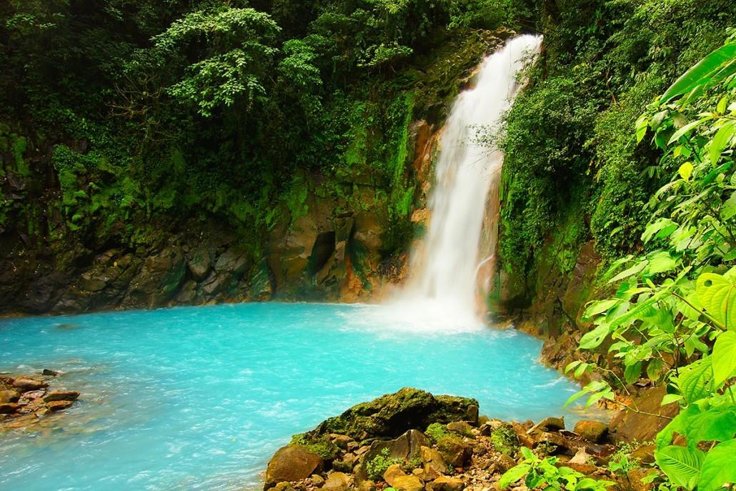 Sensoria Waterfall - Rincon de la Vieja Volcano, Costa Rica