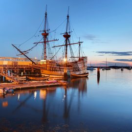 Mayflower II - Plymouth, Massachusetts