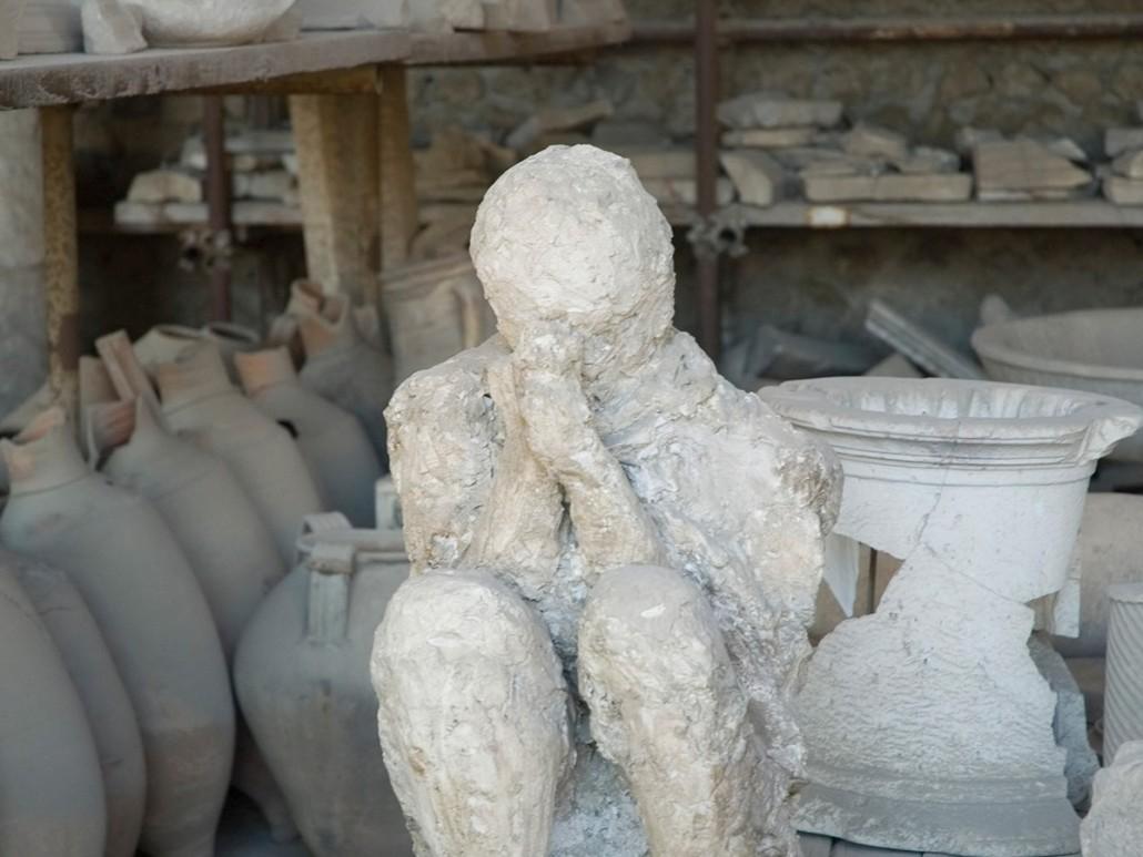 Pompeii Victim - Pompeii, Italy