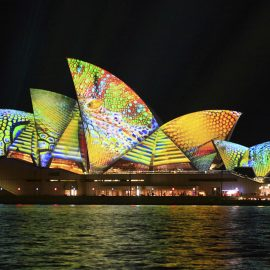 Sydney Opera House Summer Colors