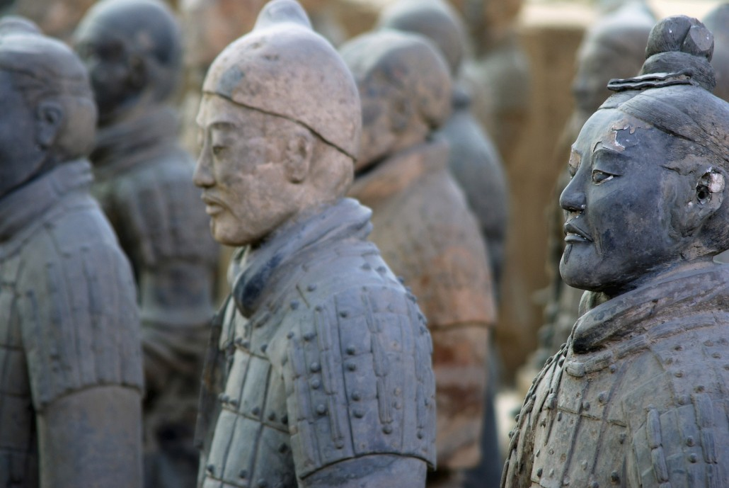 Study art in China - Terra Cotta Army, Xi'an, China