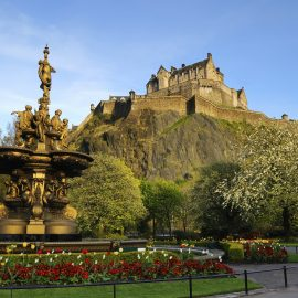 Edinburgh and London