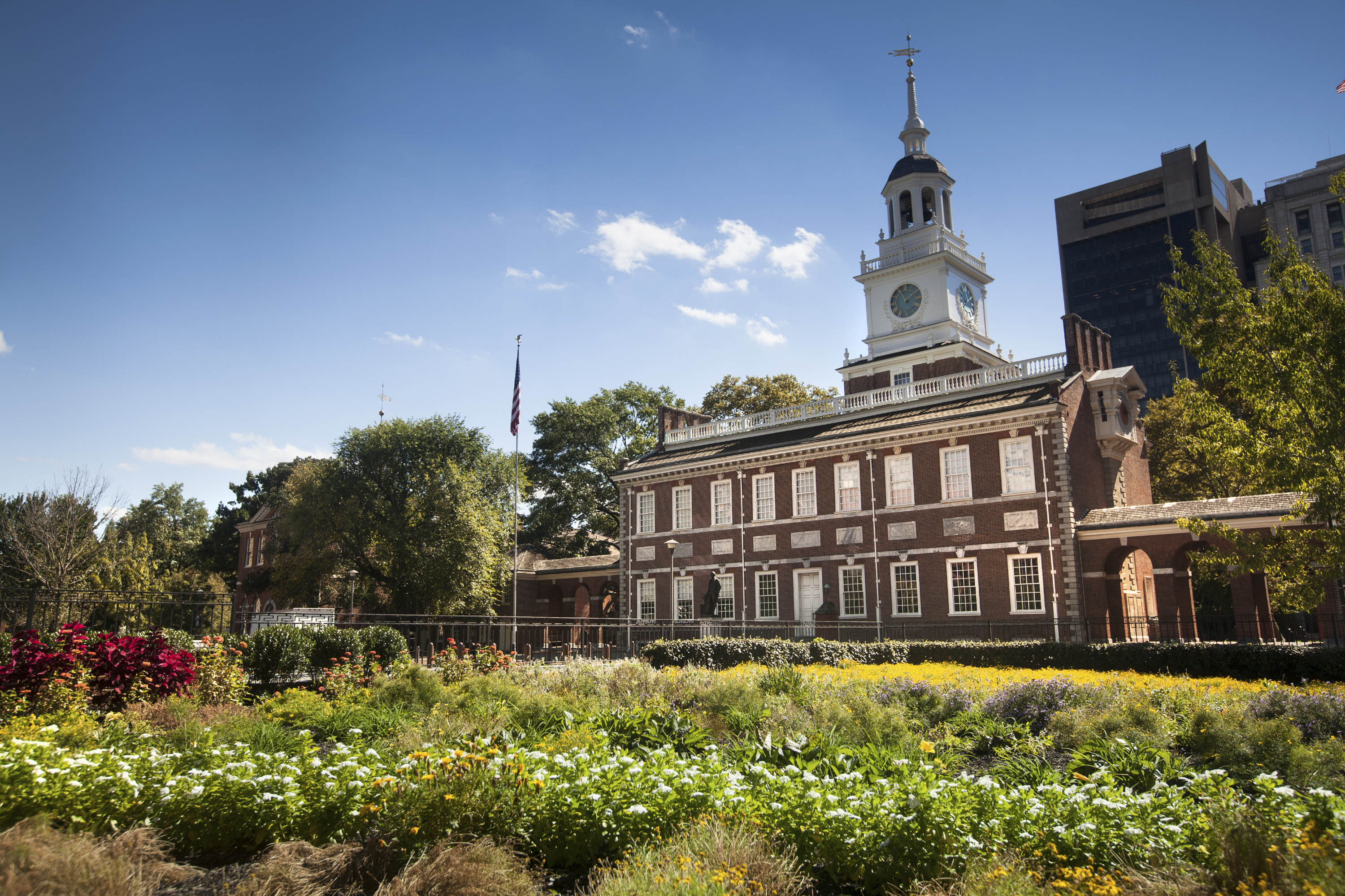 Tours to Independence Hall in Philadelphia