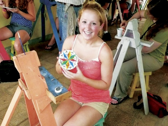 LEAP Ox cart crafts - costa rica
