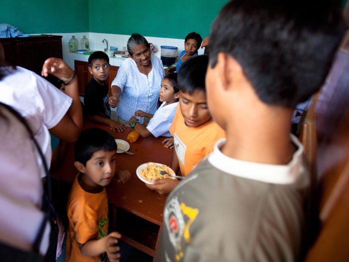 Peruvian School Visit