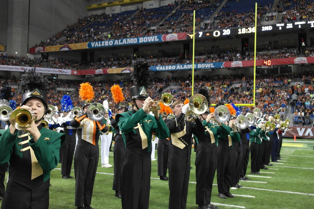 Valero Alamo Bowl Marching Band Program