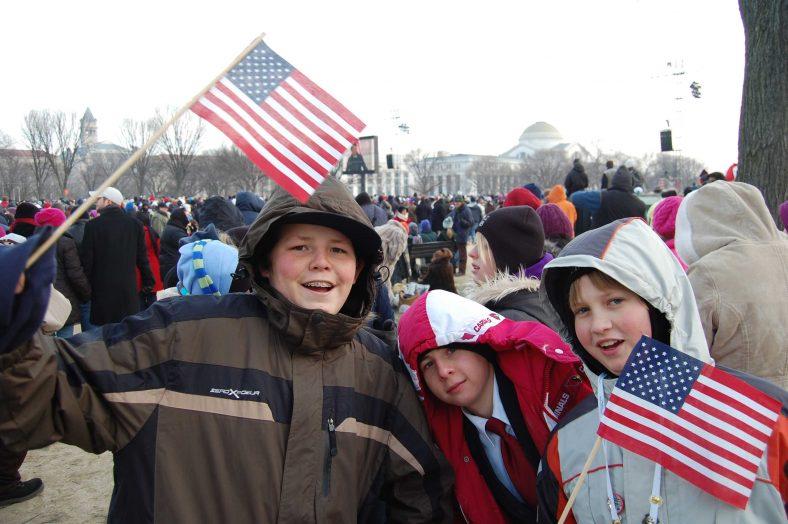Presidential Inauguration School Trip