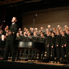 Dr. Aaron Smith, U.S. Naval Academy Glee Club