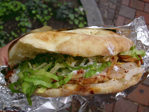 German Food Doner Kebap