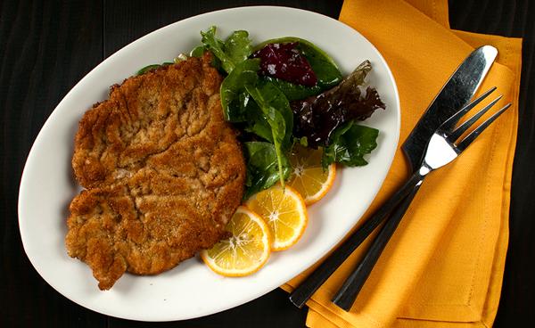 German Food Wiener Schnitzel