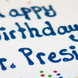 Happy Birthday Mr. President