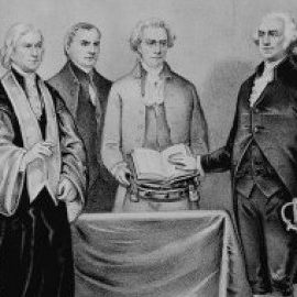 George Washington Swearing In