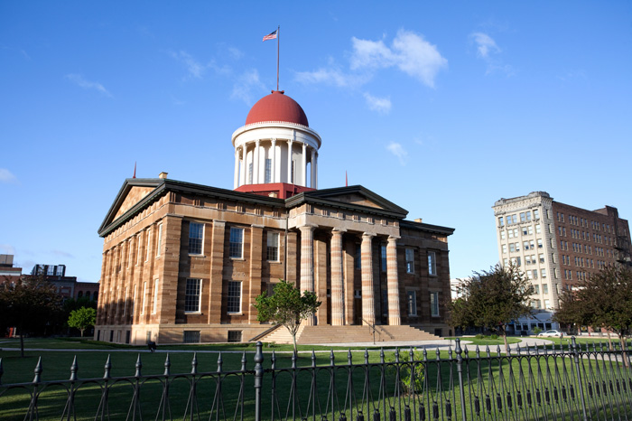 Old Illinois State Capital