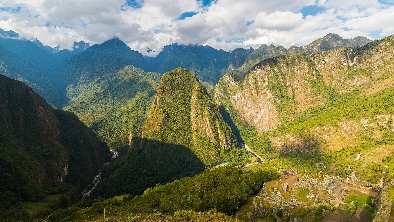 Machu Picchu Peru Panorama