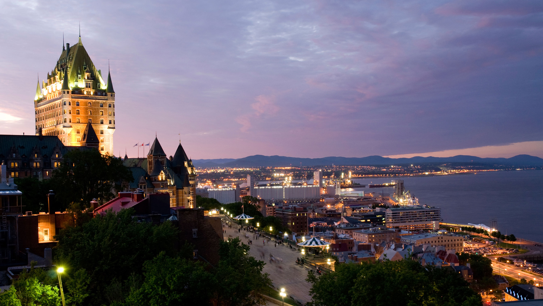 Quebec Canada Nighttime